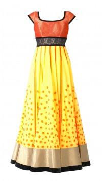 Sunshine Yellow Anarkali