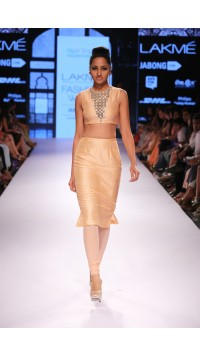 Blush Churidar Skirt Set