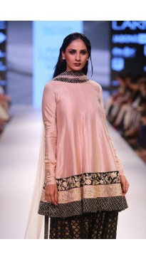 Blush Mul Anarkali